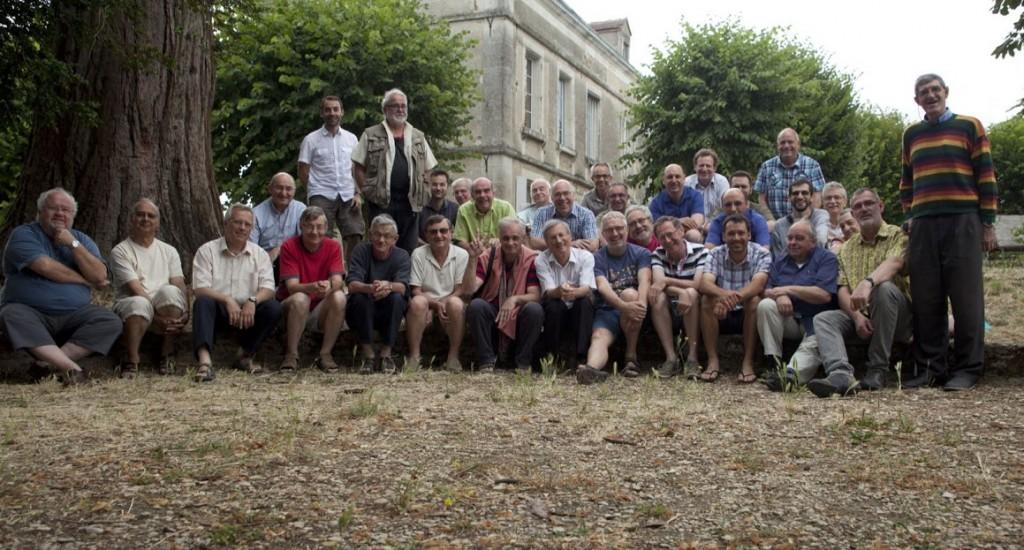 Rencontres de prêtres à Pontigny en juillet 2015